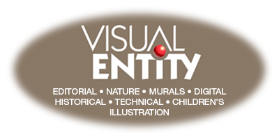 Visual Entity - Illustration by A. Michael Shumate